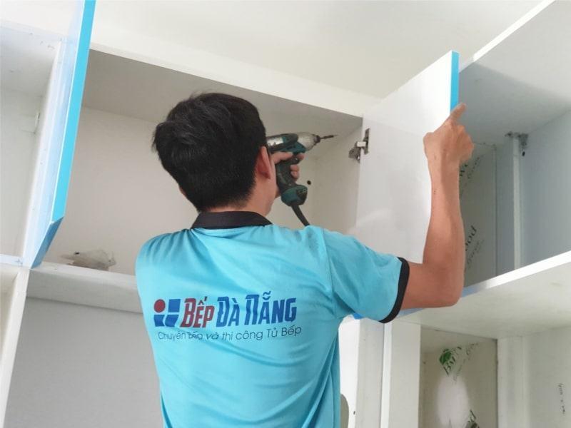 thợ thi công tủ bếp Đà Nẵng