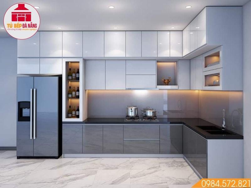 Mẫu tủ bếp đẹp được ưa chượng tại Đà Thành